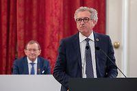 IPO , Chamber , Pierre Gramegna depose Budget 2021 , Staatsbudget , depot Budget , Foto:Guy Jallay/Luxemburger Wort