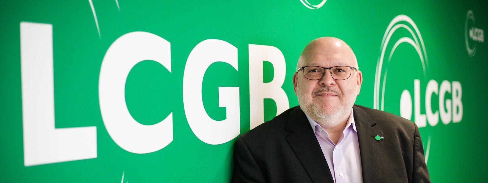 LCGB-Nationalpräsident Patrick Dury.