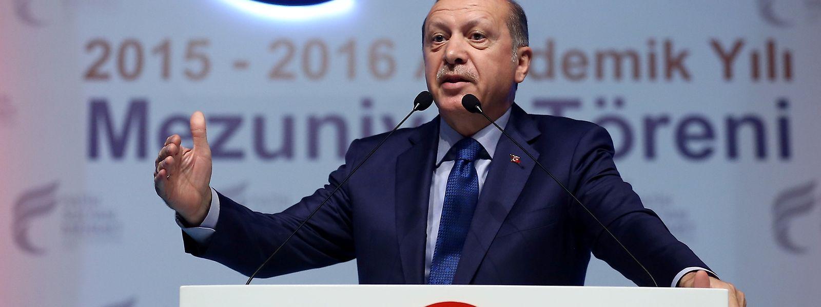 Erdogan droht der EU mit einem Referendum nach Brexit-Vorbild.