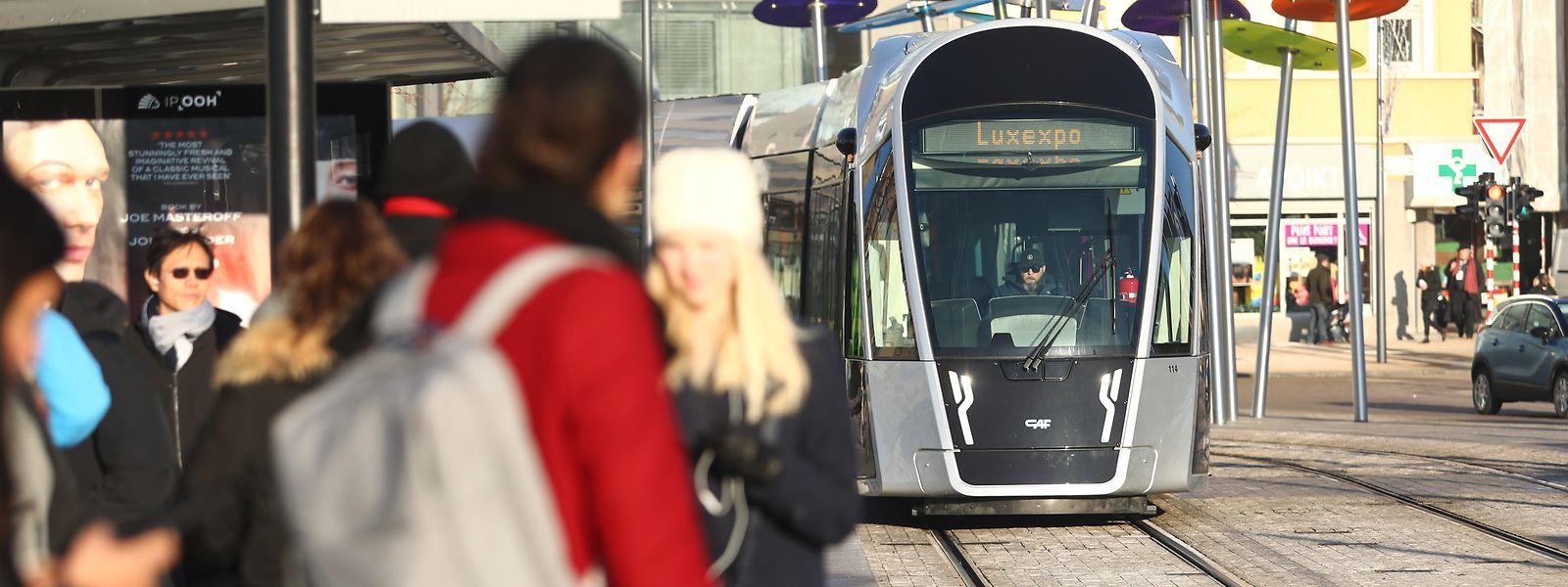 En 2019, le nombre d'usagers du tram a progressé de 30% par rapport à l'année d'avant.