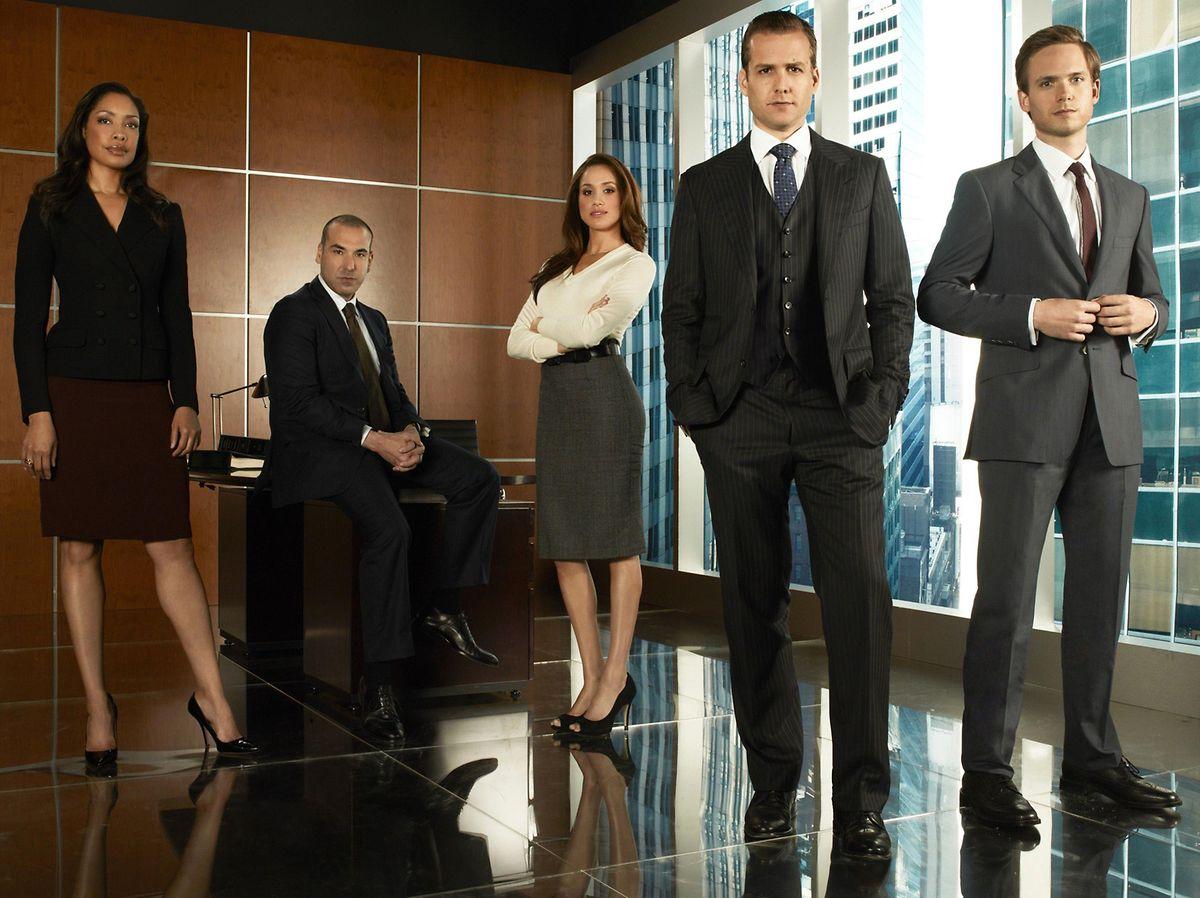 """Als Rachel Zane war Meghan Markle in der US-Serie """"Suits"""" zu sehen."""