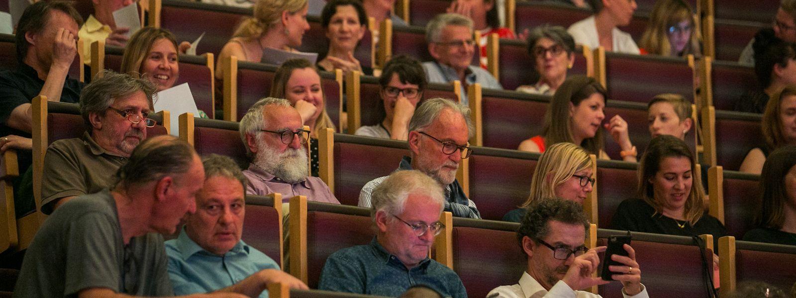 Im Musikkonservatorium wird darüber diskutiert, wie die Weichen für die Kulturpolitik in Zukunft gestellt werden sollen.