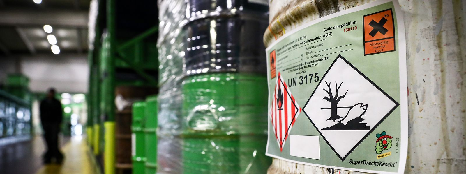 Spécialisé dans la collecte et le recyclage de produits problématiques issus des ménages, le service «SuperDrecksKëscht» serait opéré via un partenariat privilégié entre l'Etat et la société privée allemande Oeko-Service Luxembourg SA.