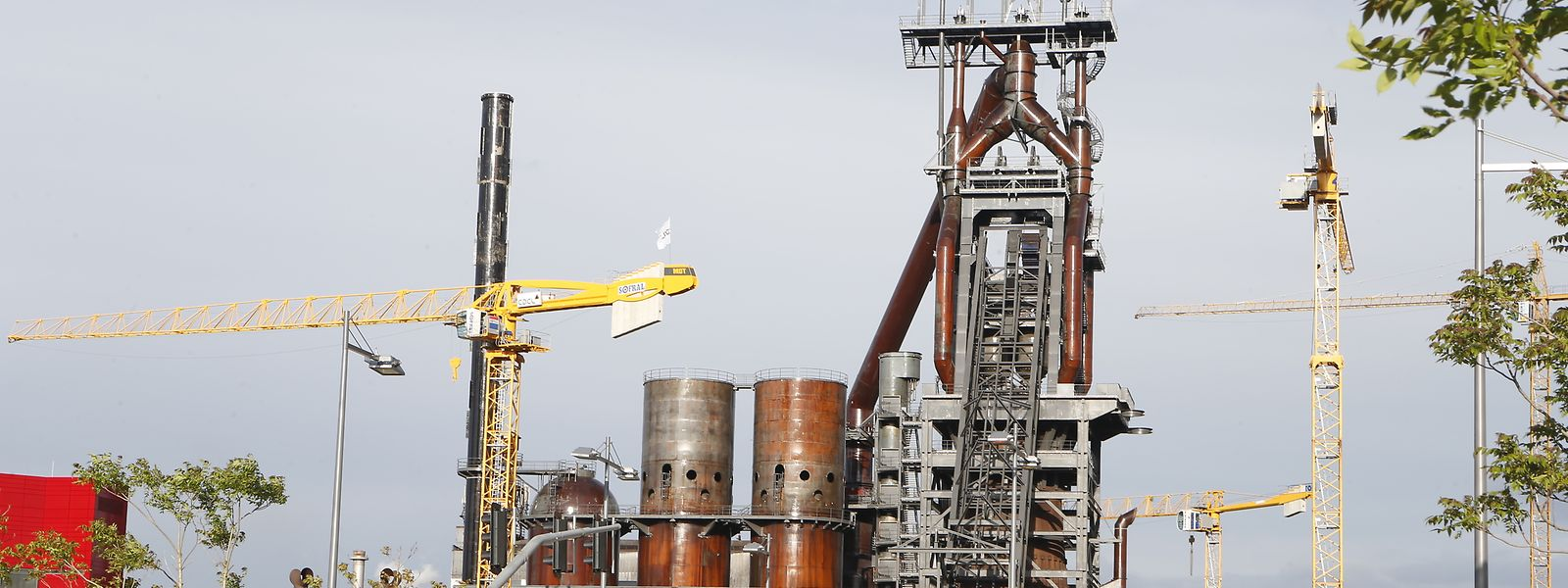Le Fonds Belval va disposer de 35,3 millions pour effectuer les aménagements des infrastructures industrielles