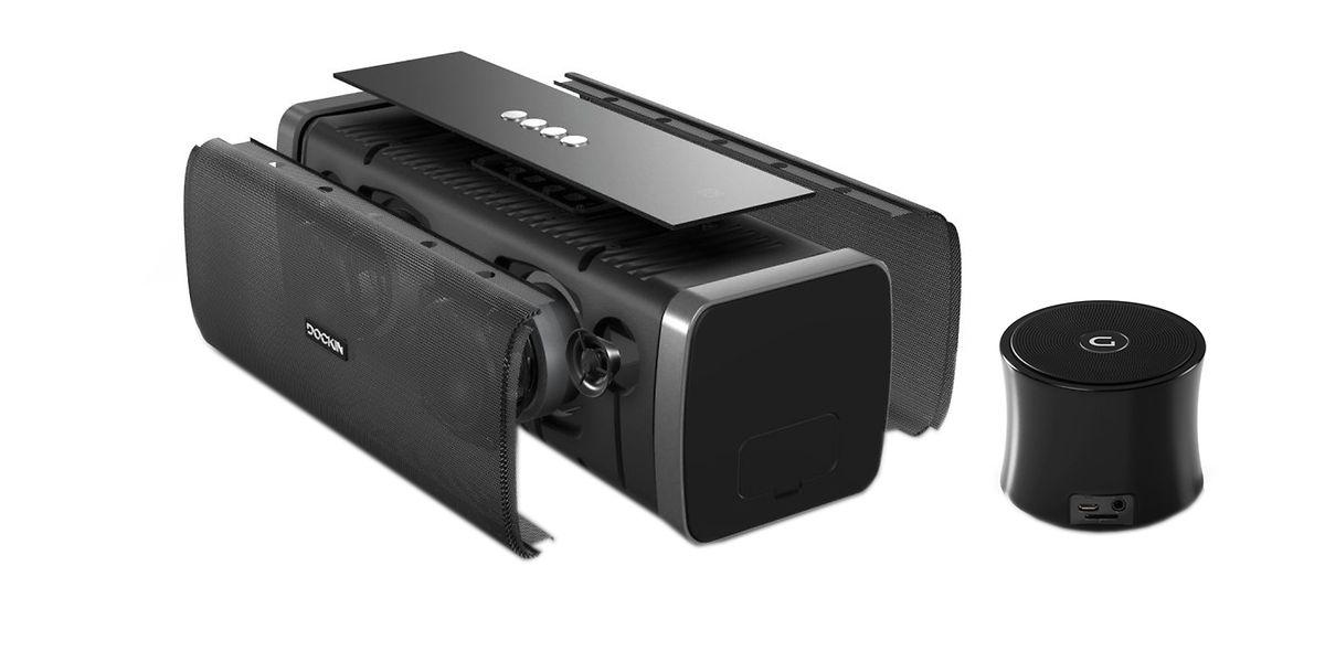 Robuste Soundmaschinen:Die Boxen von Dockin halten,was sie versprechen.