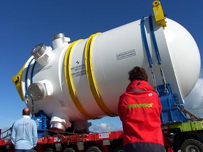 Anomalies have been detected in Flamanville's vessel steel