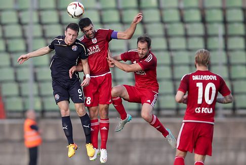 Champions League football qualifiers: Fola Esch out of Europe after defeat by Dinamo Zagreb