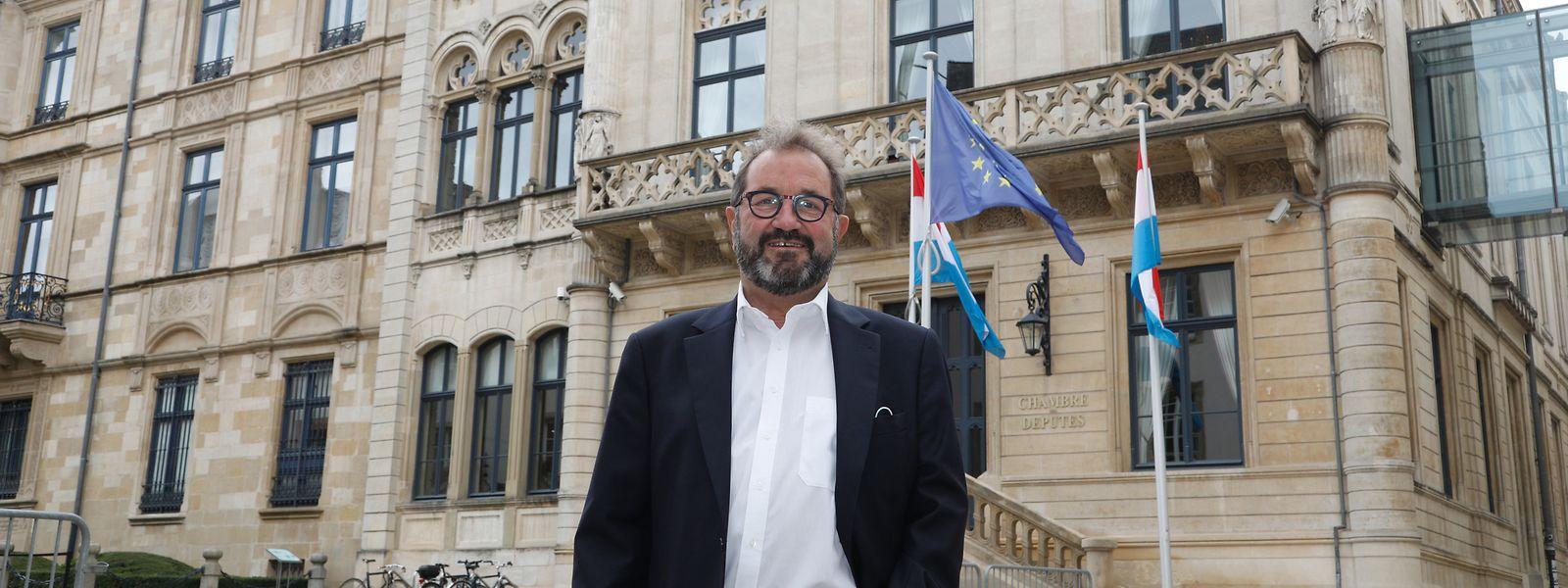 31 Jahre gehörte Gast Gibéryen (ADR) der Abgeordnetenkammer an - und machte sich als rhetorisch versierter Oppositionspolitiker einen Namen.