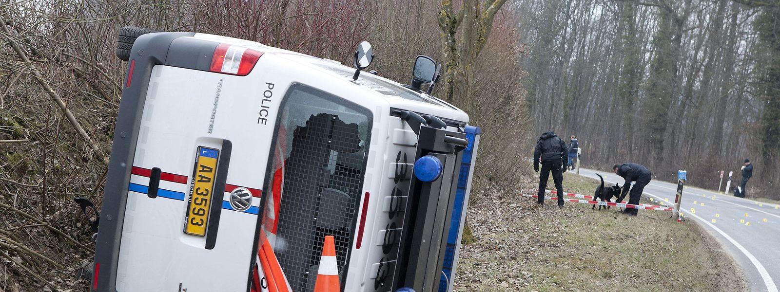 Am 3. April 2013 hatten mindestens fünf Täter den G4S-Hauptsitz in Gasperich überfallen.