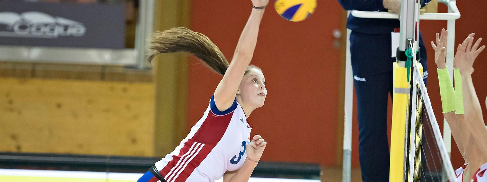 Betty Hoffmann ist zurzeit die beste Volleyballerin Luxemburgs.