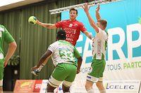 Tom Meis (Red Boys - 11) / Handball Sales Lentz League Luxemburg, 1. Spieltag Herren Titel Saison 2018-2019 / 08.03.2019 / Red Boys - HB Berchem / Centre sportif d'Oberkorn / Foto: Yann Hellers