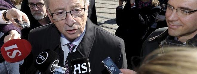 Juncker: Wir brauchen sowohl Druck auf Moskau als auch Dialog mit Moskau.