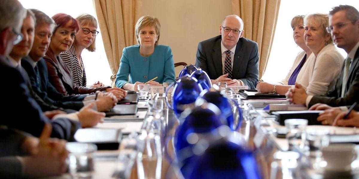 Die schottische Regionalregierung trifft Vorbereitungen für ein zweites Referendum über die Unabhängigkeit des nördlichen Landesteils von Großbritannien.