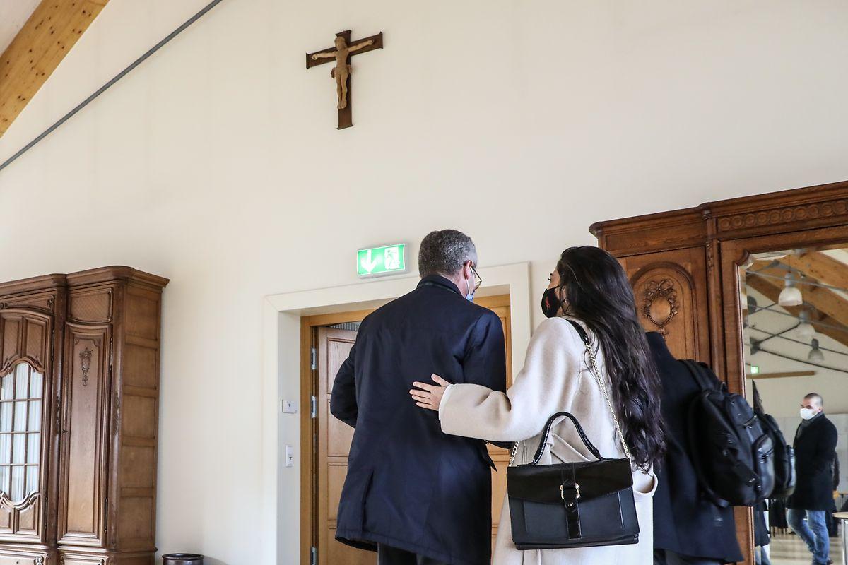 In der Parteizentrale nicht mehr erwünscht: Frank Engels letzter Auftritt als CSV-Chef fand in der Maison d'accueil des Soeurs Franciscaines statt.