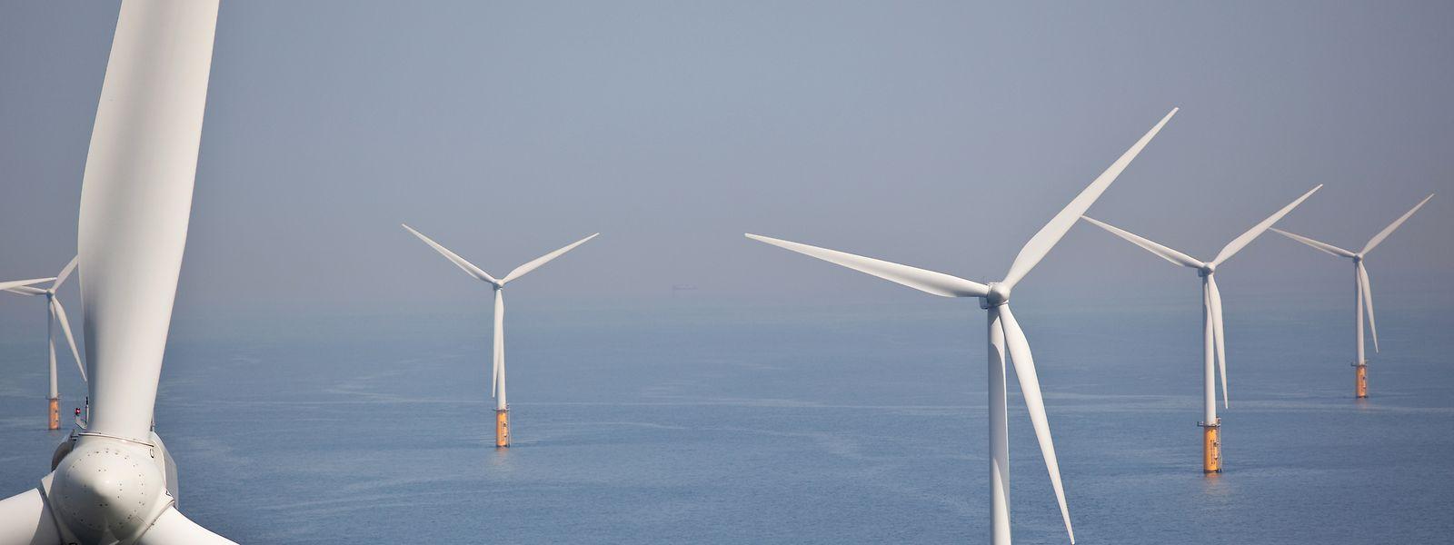 """Luxemburg beteiligt sich am dänischen Projekt """"Energy Island"""" - die EU-Kommission spricht sich für Offshore-Windparks vom Produktionsvolumen über 300 GW-Strom aus."""