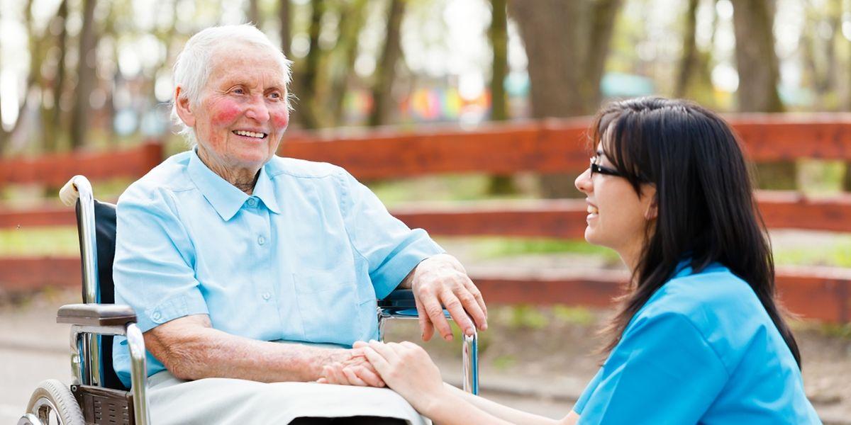 99 Prozent der Menschen wollen im Alter so lange zu Hause bleiben wie nur möglich.