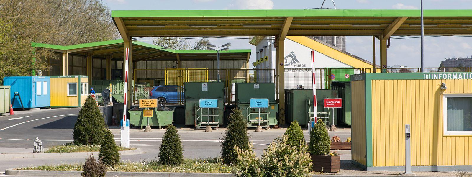 Der Wertstoffhof an der Route d'Arlon in Luxemburg-Stadt wird von Montagvormittag an wieder geöffnet sein.