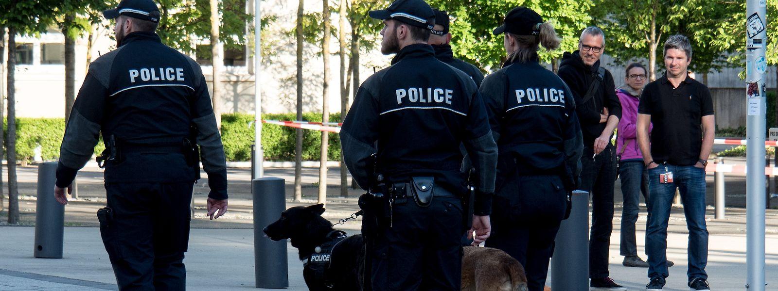 Die aufmerksame Polizei gehörte zu den Gewinnern des Wochenendes.
