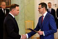 Andrzej Duda (l.) und Mateusz Morawiecki.