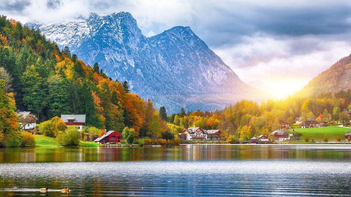 Wladimir Putin wird nur kurz in der schönen Steiermark verweilen. Er muss noch am gleichen Abend nach Deutschland zu Angela Merkel.