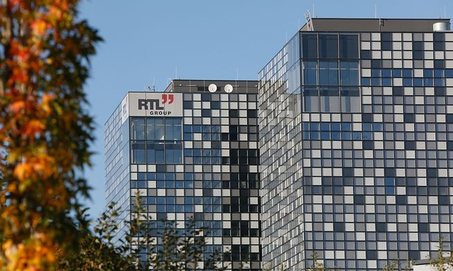 RTL offices in Kirchberg, Luxembourg