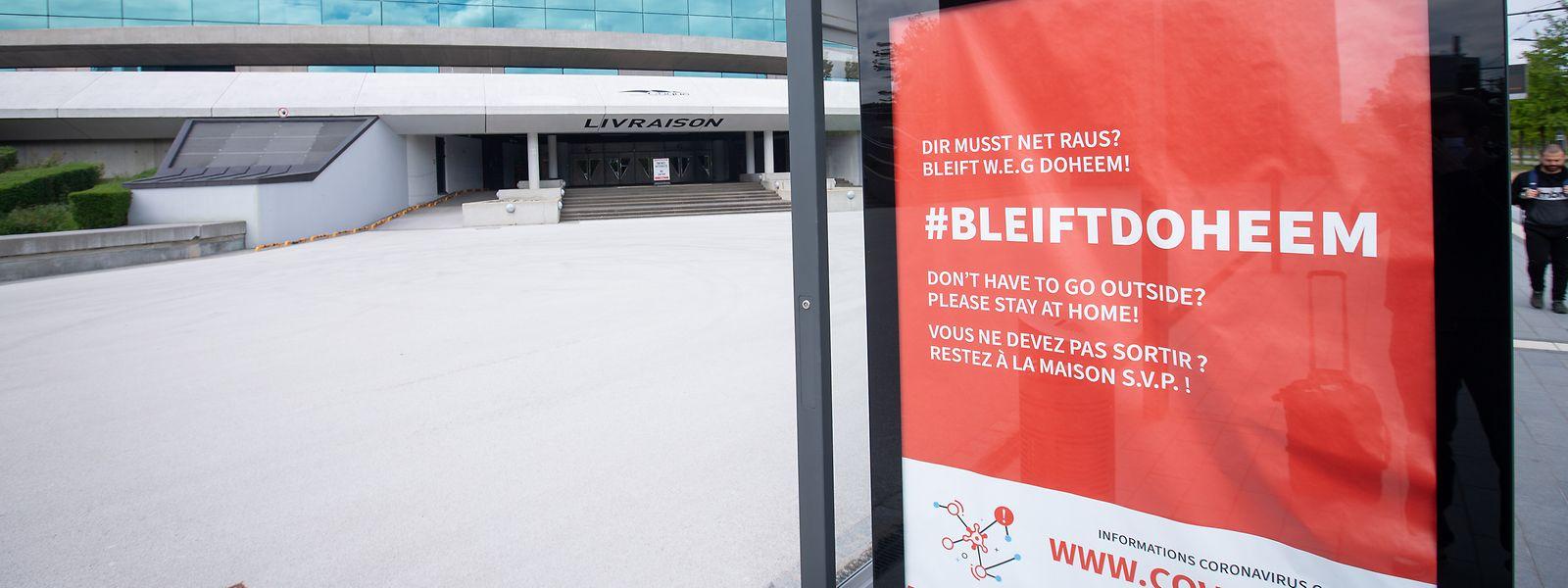 """Das Motto """"Bleift Doheem"""" gilt zurzeit wieder für fast alle Sportler. Nur Eliteathleten dürfen noch in der Coque trainieren."""