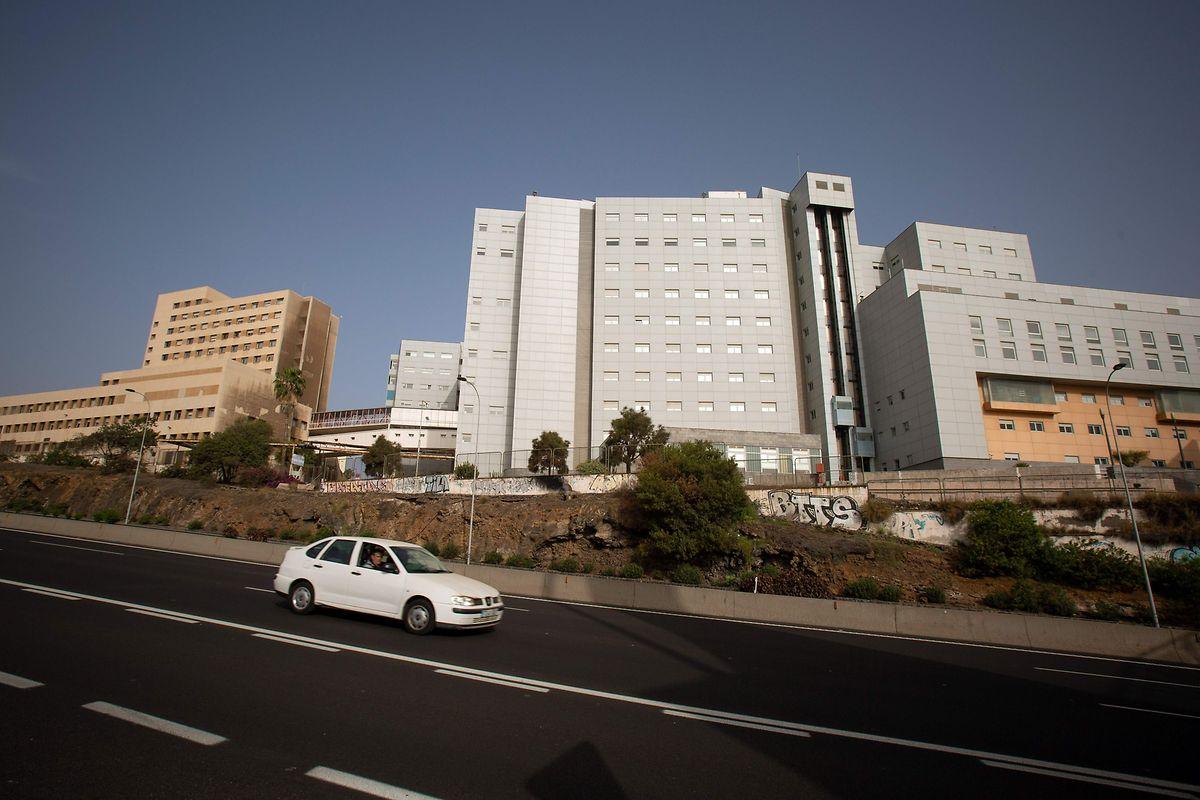 L'hôpital Nuestra Señora de Candelaria de Tenerife, où le touriste italien est placé à l'isolement