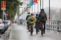 Politik, Fahrradwege in Brüssel, Foto: Guy Wolff/Luxemburger Wort
