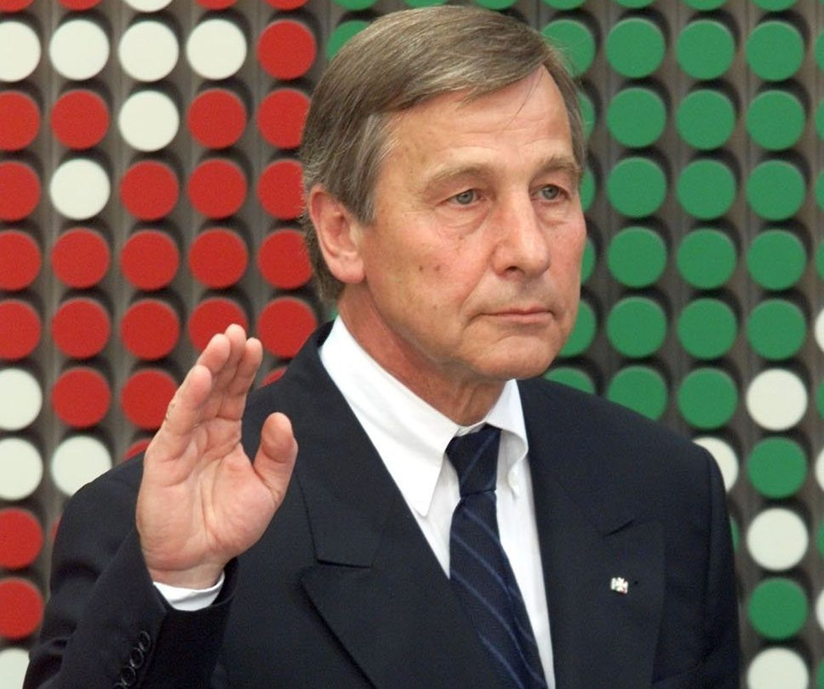 Wolfgang Clement 2000 im Düsseldorfer Landtag.