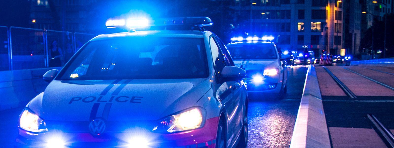 Die Polizei protokollierte die drei Zwischenfälle.