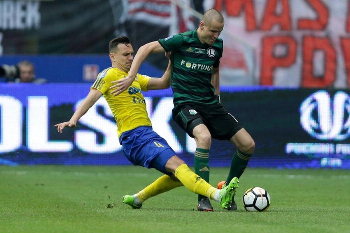 Le défenseur tchèque Adam Hlousek est lui resté fidèle au Legia.