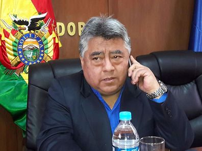 Recent picture of Bolivian deputy interior minister Rodolfo Illanes taken in La Paz, who was killed on August 27, 2016 by miners
