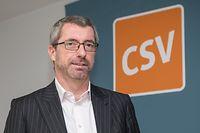 Contacto , ITV Frank Engel , Präsident CSV , Foto:Guy Jallay/Luxemburger Wort