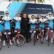 Michel Ries, au côté d'Ivan Basso, est impatient d'en découdre avec les professionnels.