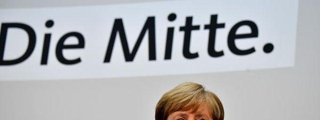 """Angela Merkel sagte am Samstag: """"Ich halte überhaupt nichts davon, wenn wir mit dem Ergebnis nichts anfangen können, dass wir die Menschen wieder bitten, neu zu wählen""""."""