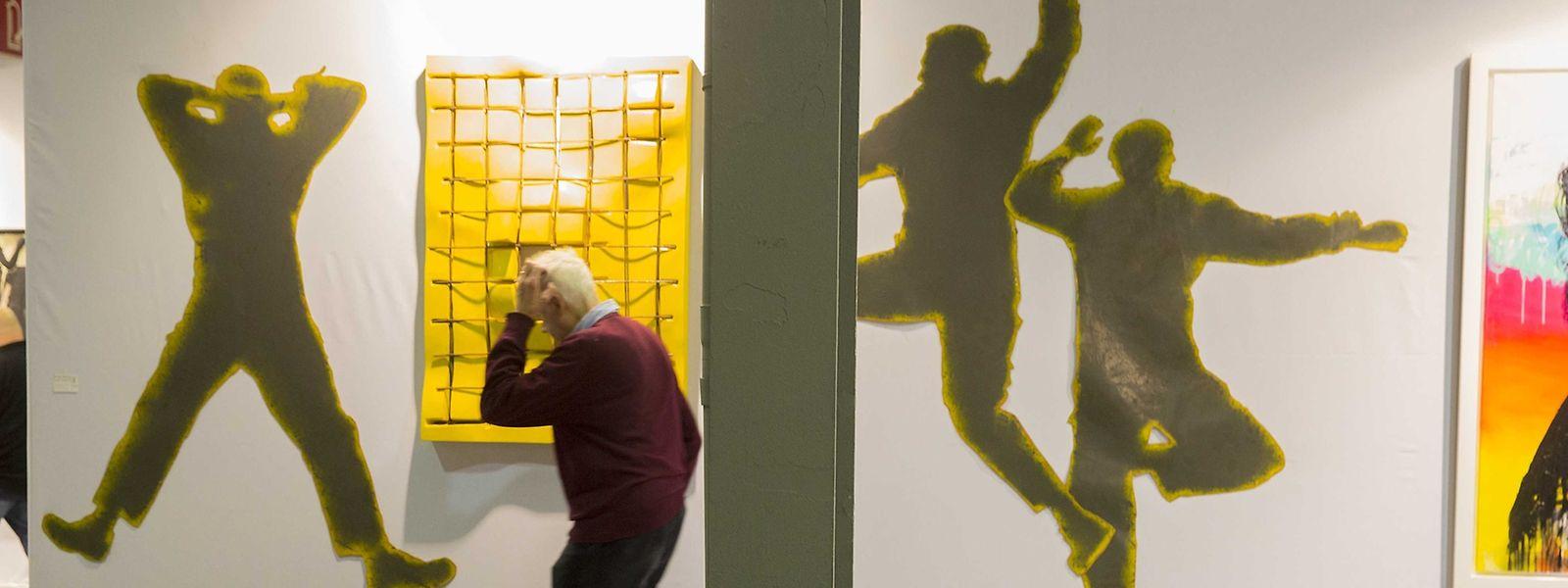 """Die """"Luxemburg Art Fair"""" sorgte auch für einige Irritationen – knapp einen Monat zuvor hatte die """"Luxembourg Art Week"""" mit einem ähnlichen Konzept stattgefunden."""