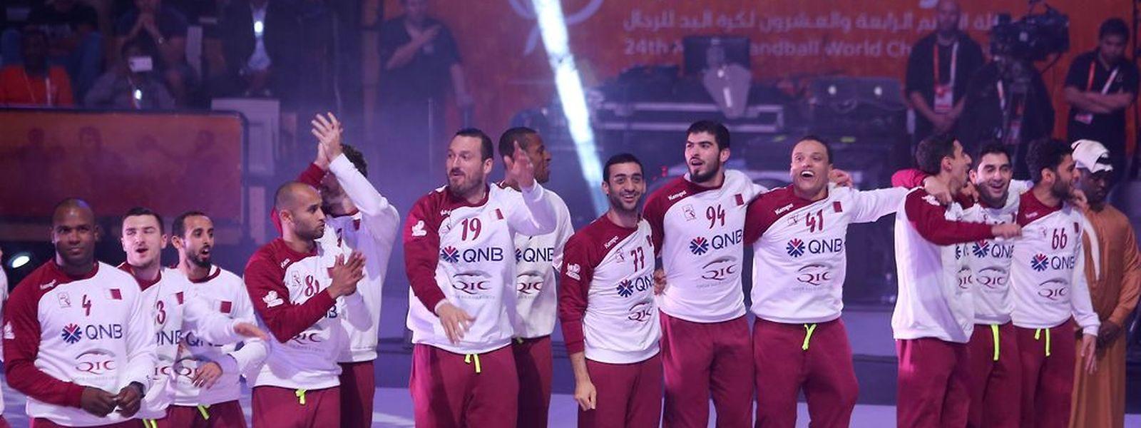 Uma grande parte dos jogadores da selecção de andebol do Qatar são estrangeiros