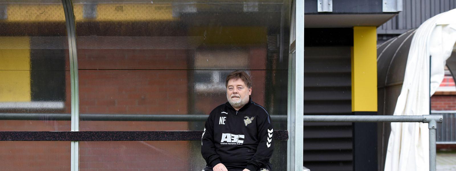 Norbert Emeringer ist seit 55 Jahren Teil des FC Progrès.