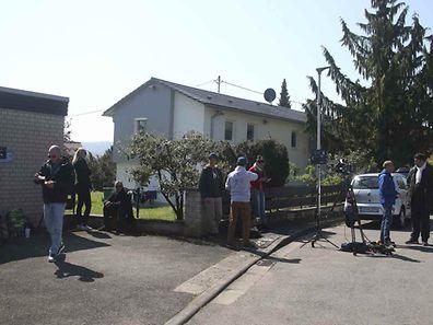 Der Verdächtige Sergej W. wurde in diesem Haus in Baden-Württemberg festgenommen.