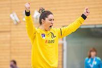 Adriana Staicu (12 Diekirch)handball - AXA League - Dames - HB Museldall - CHEV Diekirch - 08/05/2021 - Hall sportif Grevenmacherfoto : Vincent Lescaut