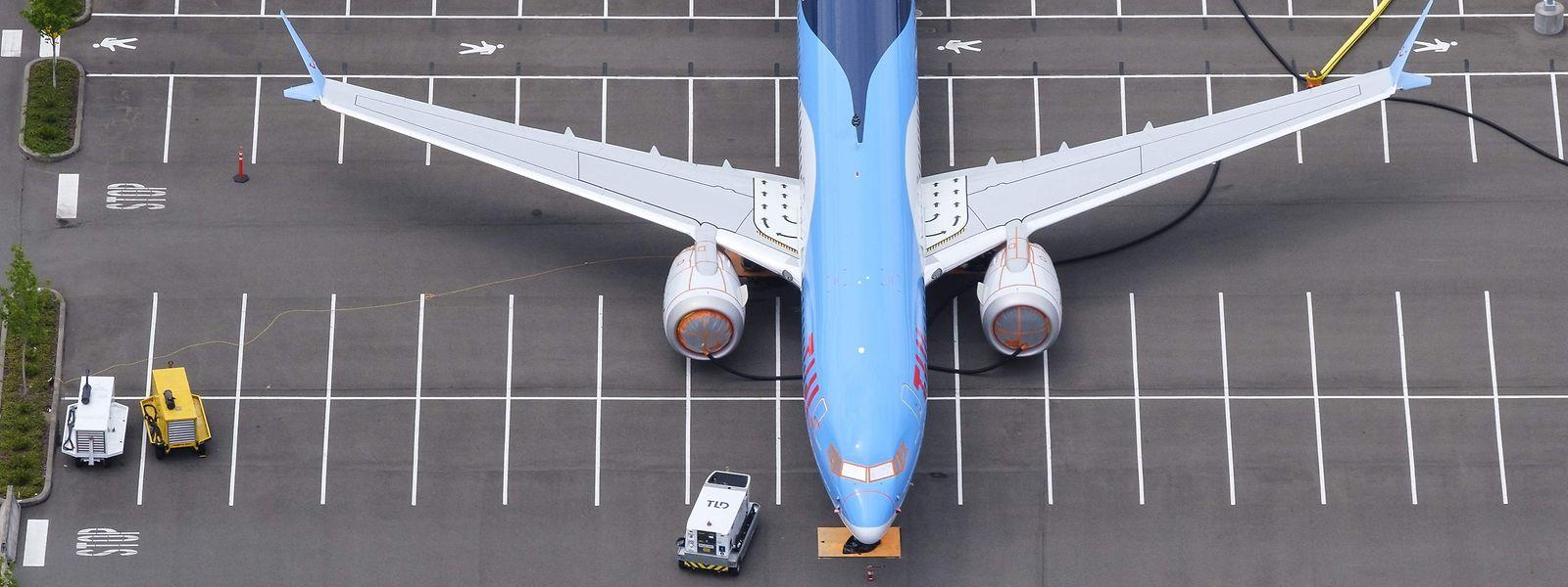 Verschiedene Fluggesellschaften parkten ihre Boeing 737 MAX sogar auf den Stellplätzen der Belegschaft.
