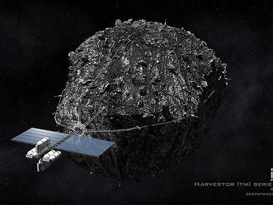 Bevor die ersten Mineralien im All abgebaut werden können, müssen noch viele technische und rechtliche Fragen gelöst werden.