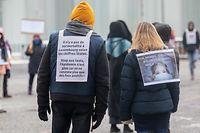 Messages clairs pour ces contestataires venus s'exprimer une nouvelle fois au centre de la capitale.
