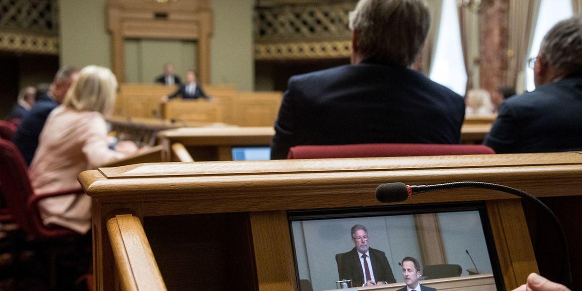 Die Vertreter von DP, LSAP und déi Gréng verteidigten Xavier Bettels Rede zur Lage der Nation.