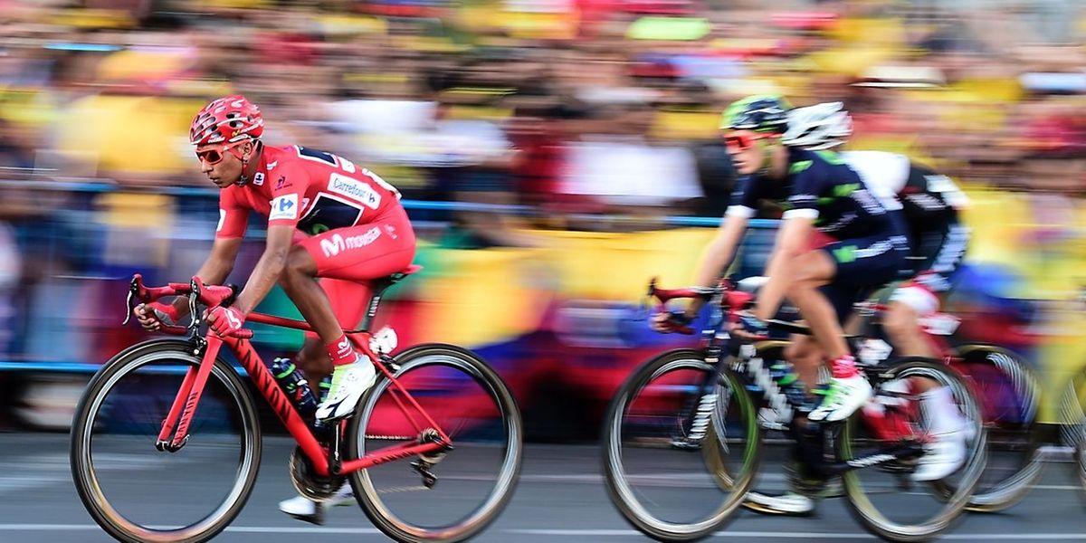 Oubliée la déception du Tour de France, Nairo Quintana a remis les pendules à l'heure sur les routes de la Vuelta.