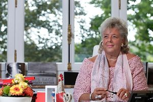 Itw Maggy Nagel, Luxembourg, le 01 Septembre 2015. Photo: Chris Karaba