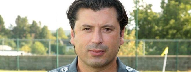 Carlos Fangueiro, treinador do F91 Dudelange.