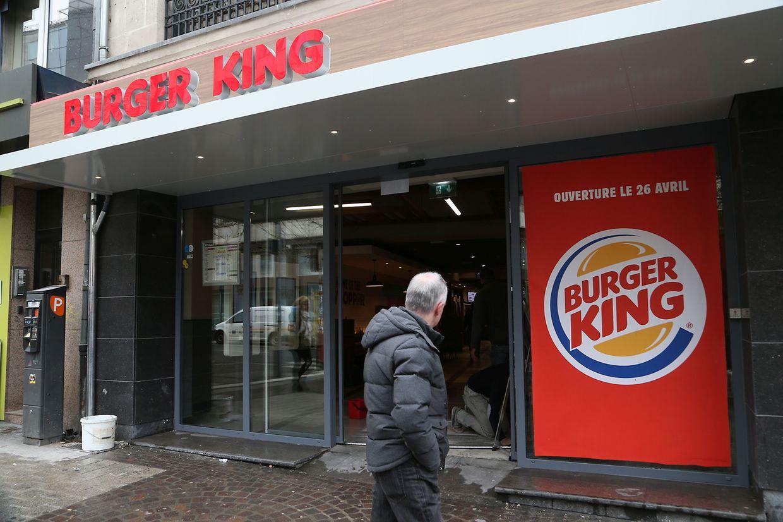 Bei der neuen Burger-King-Filiale am Luxemburger Bahnhof handelt es sich um einen früheren Quick, der in den vergangenen Wochen umgebaut wurde.
