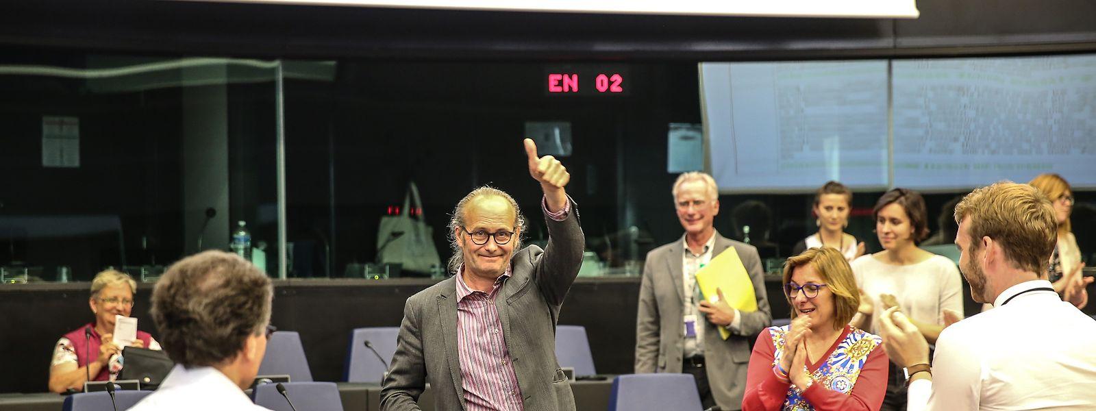 Letzte Ehrenrunde in Straßburg.