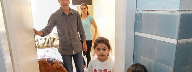Nach Jahren der Ungewissheit konnte diese syrische Familie vor einem Monat ein neues Leben fernab des Krieges beginnen.